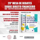 César Caúla publica artigo em livro sobre a crise do federalismo na pandemia